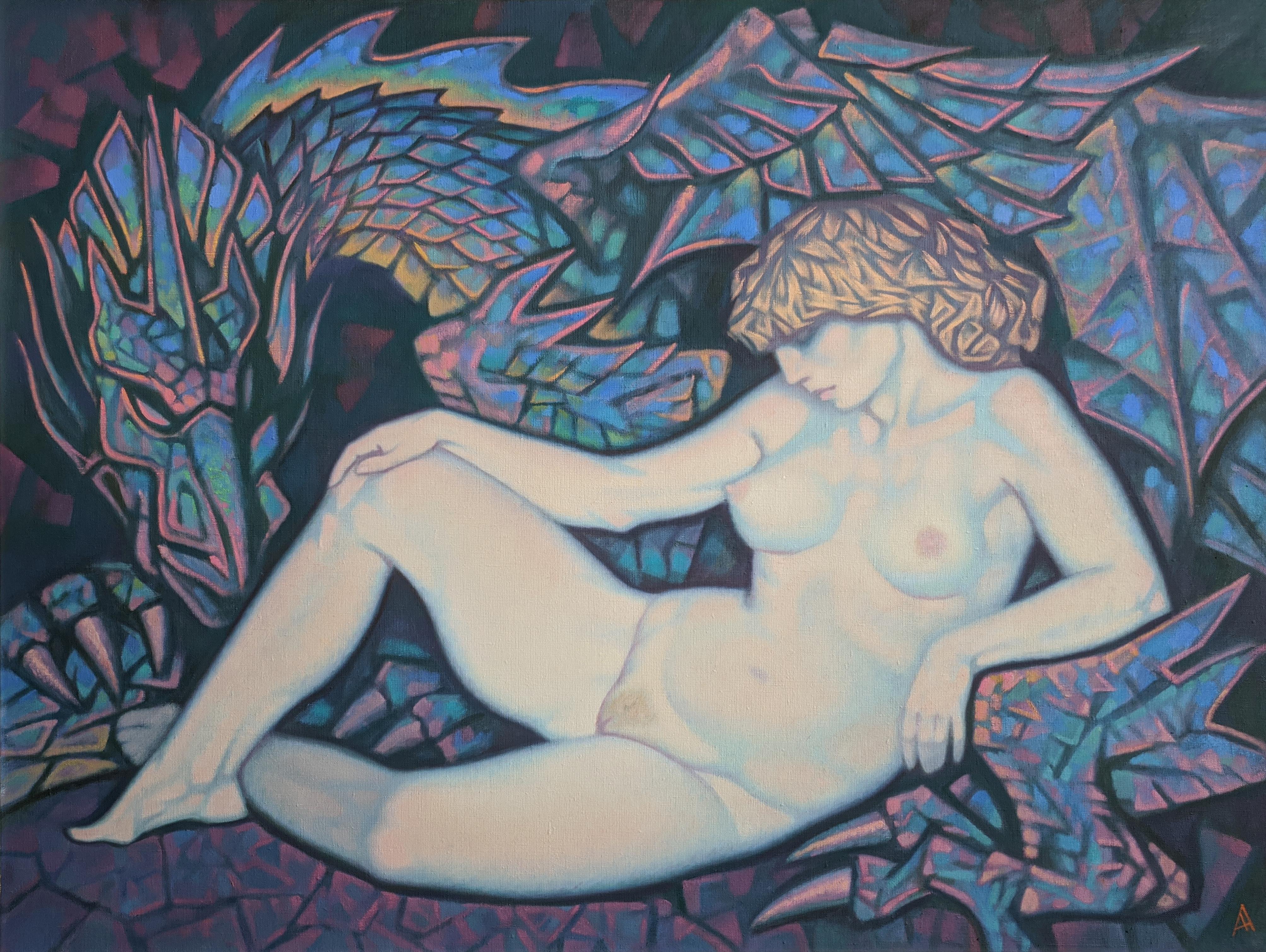 Андромеда - картина художника Анатолия Алексеева