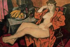 Женщина в сауне
