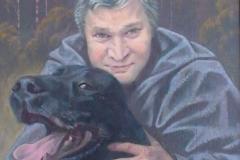 Портрет Олега Остапенко