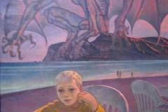 Вечер в заливе Ангела (портрет сына)